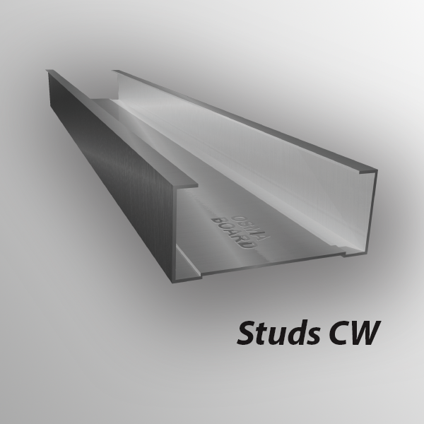 Osma Board Metal sections for drywall